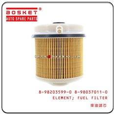China Isuzu 4HK1 4JJ1 FRR FSR Fuel Filter Element 8-98203599-0 8-98037011-0 1117030-P301 8-98162897-0 8980370110 factory