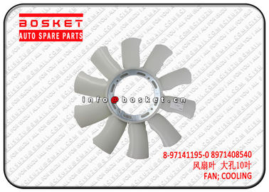 8-97141195-0 8971408540  Isuzu Engine Parts Truck Cooling Fan For 4HG1 NKR NPR 8971411950 8971408540