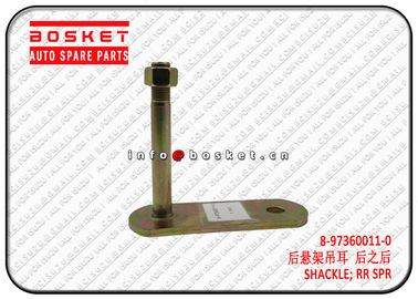 China 8973600110 8-97360011-0 Truck Chassis Parts Rear Spring Shackle  For ISUZU 700P factory