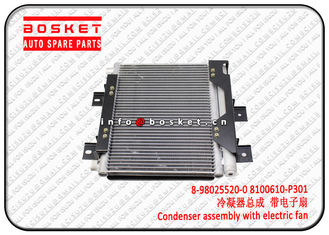 Isuzu 700P 4HK1 Condenser Assembly With Electric Fan 8980255200 8100610P301 8-98025520-0 8100610-P301
