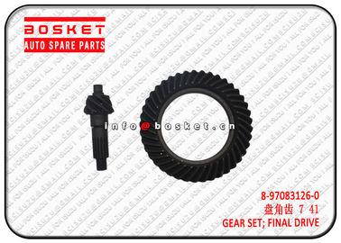 China 8970831260 8-97083126-0 Truck Chassis Parts Final Drive Gear Set For Isuzu NPR factory