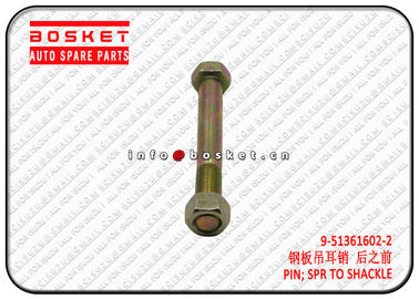 China Spring To Shackle Pin Truck Chassis Parts For Isuzu NKR 9513616022 9-51361602-2 factory