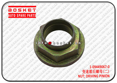 China 1094490670 1-09449067-0 Driving Pinion Nut For Isuzu CXZ81 10PE1 factory