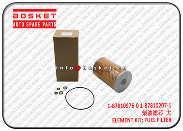 ISUZU CXZ81 10PE1 1878109760 1878102071 1-87810976-0 1-87810207-1 Fuel Filter Element Kit