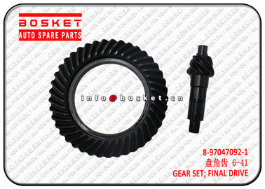 China 8970470921 8-97047092-1 Isuzu NPR Truck Chassis Parts Final Drive Gear Set factory