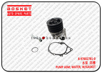 China 6HE1-T FSR FTR Isuzu FVR Parts With Gasket Water Pump Assembly  8976027810 8-97602781-0 factory