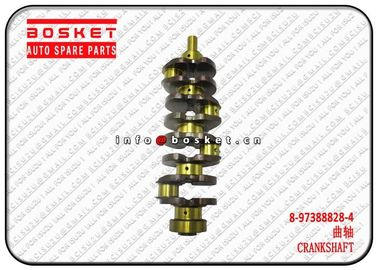 4JJ1 NKR Isuzu NPR Parts Metal Crankshaft 8973888284 8-97388828-4