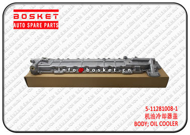 5112810081 5-11281008-1 Oil Cooler Body For Isuzu 6BD1 6BB1 FSR FTR