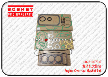 1PCS Engine Overhaul Gasket Set For Isuzu 3KR1 5878100700 5-87810070-0