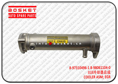 2.4 KG Isuzu NPR Parts Exhaust Gas Recirculation Cooler Assembly 8973104961 8980611040 8-97310496-1 8-98061104-0
