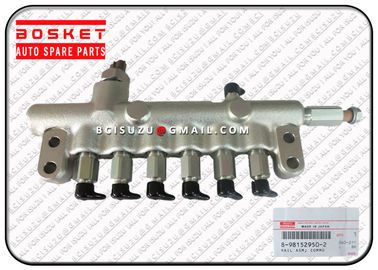 China 8981529502 8-98152950-2 Isuzu Injector Nozzle 6HK1 Rail ASM Common 8973230190 factory