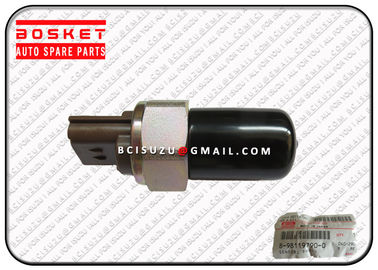 China Isuzu Injector Nozzle Rail Common Pressure Sensor 8973186840 8-97318684-0 factory