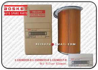 China Isuzu Filters Truck 6WF1 Oil Filter Element supplier