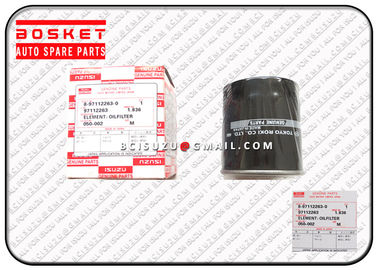 China Durable Oil Filter Element Isuzu Filters Cxz81k 10pe1 8971122630 8-97112263-0 supplier