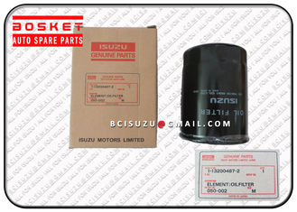 China Engine Spare Parts Isuzu Filters Fsr12 6BG1 Oil Filter Element 1132004872 1-13200487-2 supplier
