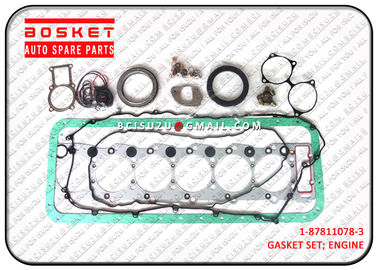 1-87811078-3 Rubber Isuzu Cylinder Gasket Kit For Fvr33 6HH1 1878110783