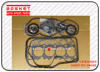 China Light Duty 700P 4HK1 Isuzu Cylinder Gasket Set 5878151980 5-87815198-0 factory
