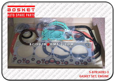 China 4BG1 Isuzu Cylinder Gasket Set 5878142813 5-87814281-3 , Net Weight 1.55kg factory