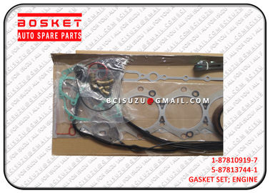 China 1-87810919-7 Iron And Rubber Isuzu Cylinder Gasket Set For TPB 6SD1T 1878109197 factory