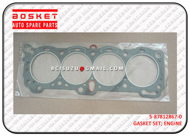 China 5-87812867-0 Isuzu Cylinder Head Gasket Set For TFR17 4ZE1 5878128670 factory