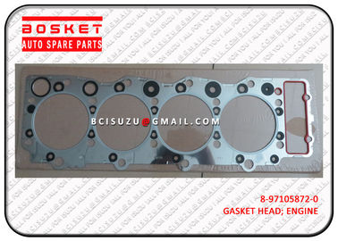 China Steel Isuzu Cylinder Gasket Set Npr66 4HF1 8971058720 8-97105872-0 factory
