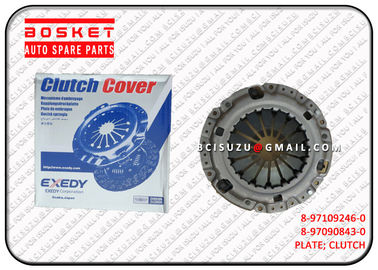 China NKR55 4JB1T Isuzu Clutch Disc Steel Clutch Pressure Plate 8-97109246-0 8-97090843-0 supplier