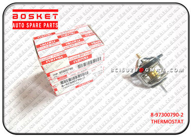 China 8-97300790-2 Isuzu NPR Parts Vehicle Thermostat 8973007902 , Net Weight 0.12kg supplier