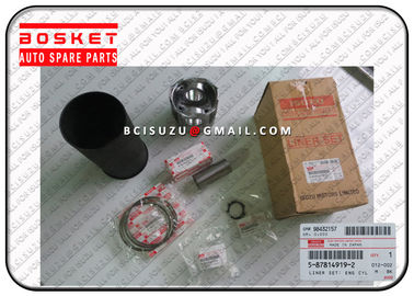 China Engine Spare Parts Isuzu Liner Set For Nqr70 4HE1 1X 5878149190 5-87814919-0 supplier