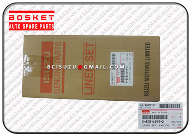 China Engine Spare Parts Isuzu Liner Set For Nqr70 4HE1 1X 5878149190 5-87814919-0 factory