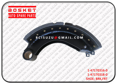 Isuzu Brake Parts Cxz51k Brake Shoe