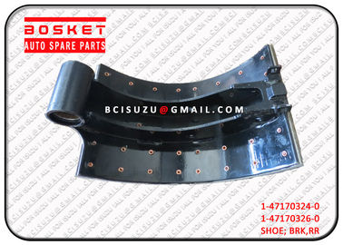 1-47170324-0 Isuzu Brake Parts CXZ51K 6WF1 Rear Brake Shoe Assembly 1471703240