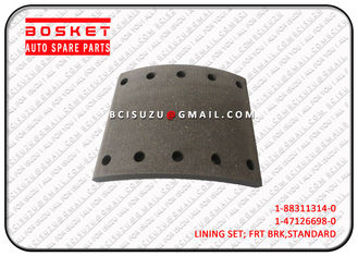 CXZ51K 6WF1 Isuzu Performance Brake Parts Front Lining Set 1883113140 1-88311314-0