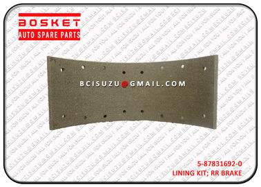 Nqr75 4HK1 4HE1 Isuzu Auto Brake Parts Rear Lining Set 5878316920 5-87831692-0