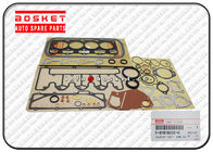 Engine Overhaul Gasket Set , Isuzu Cylinder Gasket Set 5-87818222-0 5878182220 supplier
