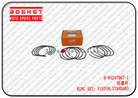 China 8-94247867-1 8942478671 Standard Piston Ring Set Suitable For ISUZU NKR55 4JB1 factory
