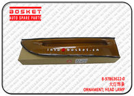 China ISUZU NKR55 4JB1 Head Lamp Ornament ISUZU NKR Parts 8-97863622-0 8978636220 factory