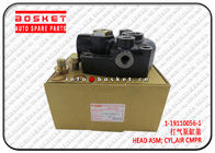 China 1-19110056-1 1191100561 Air Compressor Cylinder Head Assembly Suitable for ISUZU FVZ34 6HK1 factory