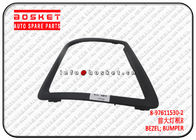 China 8-97611530-2 8976115302 Isuzu CXZ Parts Bumper Bezel Suitable for ISUZU VC46 company