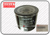 Nqr66 Elf 4hk1 Steel Truck Oil Filter Isuzu Replacement Parts 5876100310 8971482700