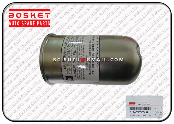 Fvr 6he1 Diesel Engine Parts Isuzu Truck Oil Filter Case Asm