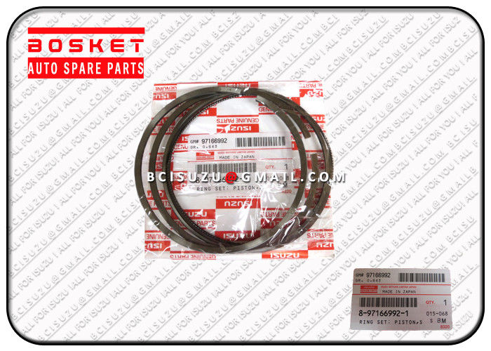 Truck Engine Parts Isuzu NPR60 4HE1 Piston Ring Set Standard