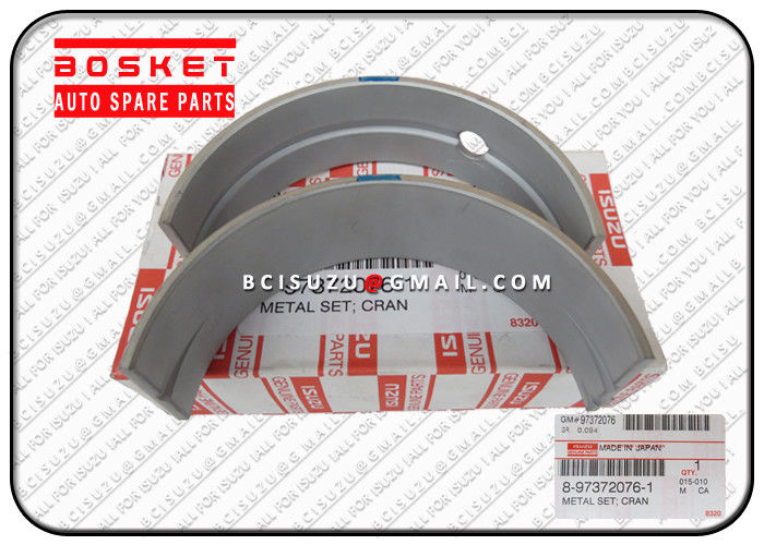 CXZ  Isuzu Parts 8-97372076-1 8973720761 Crankshaft Metal Set Suitable for ISUZU ELF 4HK1
