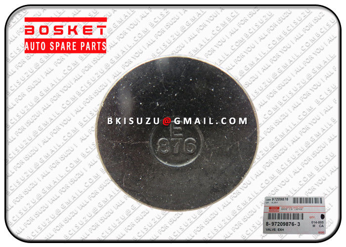 Truck Engine Exhaust Valve for ISUZU 4HK1 6HK1 8-97209876-2 8972098762 supplier