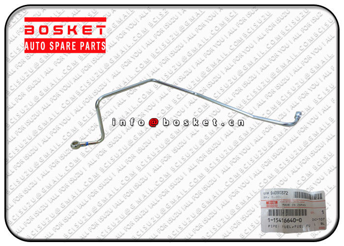 1-15416640-0 1154166400 Isuzu Engine Parts Fuel Pump Pipe For ISUZU XE 6WG1 supplier