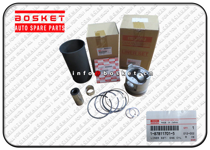 FVR32 6HE1T FRR ISUZU Auto Parts 1-87811701-5 1878117015 Engine Cylinder Liner Set supplier