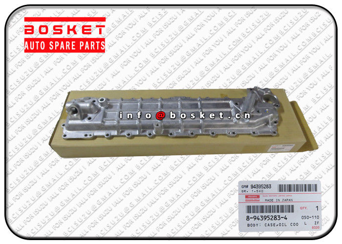 Isuzu Engine Parts 8-94395283-4 8943952834 Oil Cooler Body For ISUZU EVZ FSR FTR FVR32 6HE1 supplier