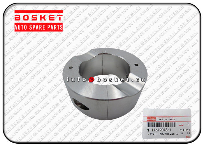 Japanese Truck Parts ISUZU CXZ81 10PE1 1-11619018-1 1116190181 NO.6 Crankshaft Metal supplier
