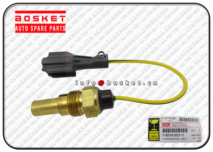 Isuzu Japanese Truck Parts CXZ CVZ CXZ81 10PE1 1-83161031-1 183161031 Thermometer Unit supplier