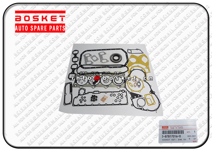 Orginal Japanese Truck Parts Engine Overhaul Gasket Set For ISUZU XD 5-87817016-0 5-87814002-5 5878170160 5878140025 supplier