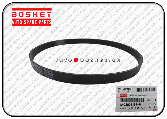 Japan ISUZU ELF 700P Cooling Fan Belt NKR NPR 8-98003187-0 8980031870 supplier